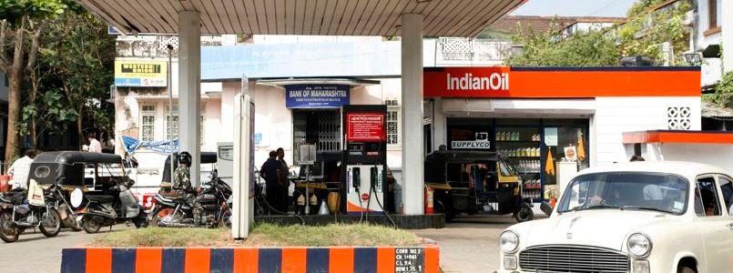 Indian Oil possède plus de 22.600 stations-service en Inde, comme ici à Trivandrum, dans le Kerala. Crédits photo : QILAI SHEN/BLOOMBERG NEWS