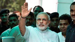 Narendra Modi, le 8 juillet dernier, à New Delhi. Crédits photo : PRAKASH SINGH/AFP