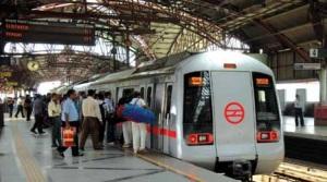 Le métro de Delhi
