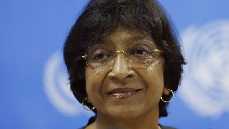 Navi Pillay, haute commissaire des Nations unies aux droits de l'homme, dénonce la tendance vers «l'autoritarisme» du gouvernement sri-lankais. Crédits photo : Eranga Jayawardena/AP